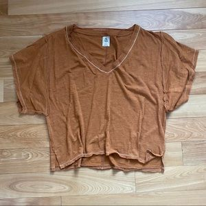 Free People loose fitting tee- size XS
